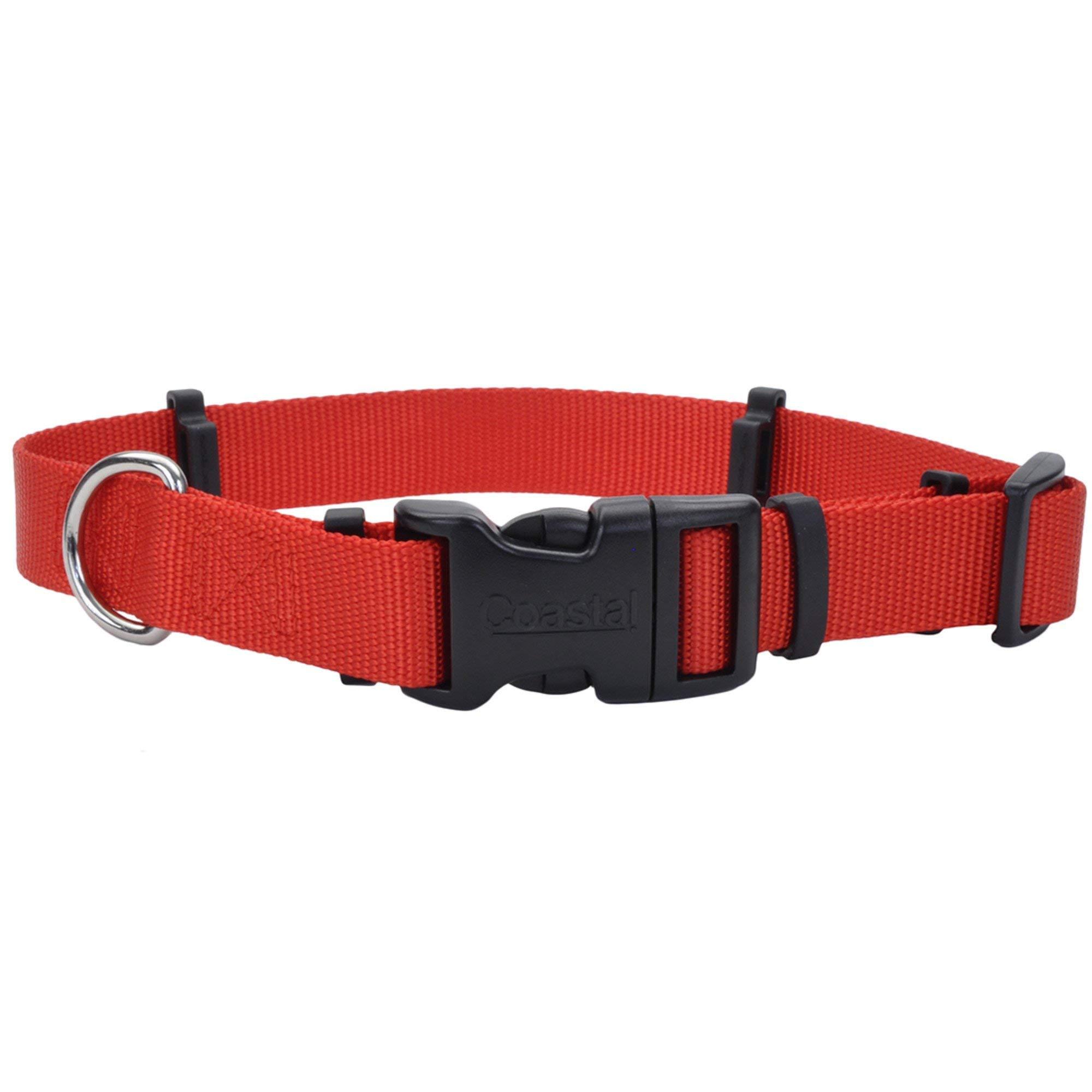 Coastal Pet Products 06192 RED20 Flea Collar Protector, 1'' x 20'' Medium, Red by Coastal Pet
