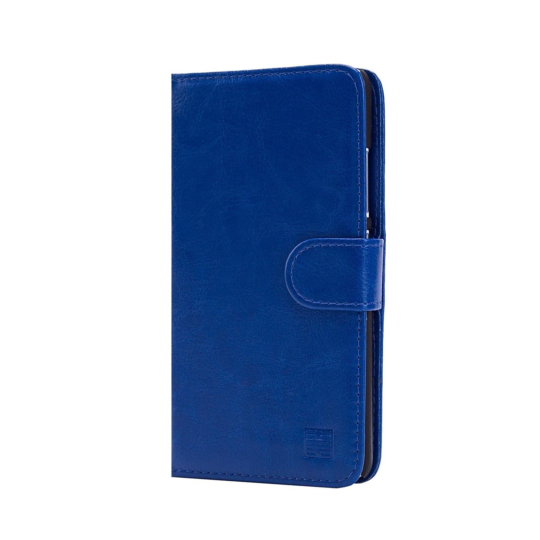 32nd® Funda Flip Carcasa de Piel Tipo Billetera para Xiaomi Redmi Note 2 con Tapa y Cierre Magnético y Tarjetero: Amazon.es: Electrónica