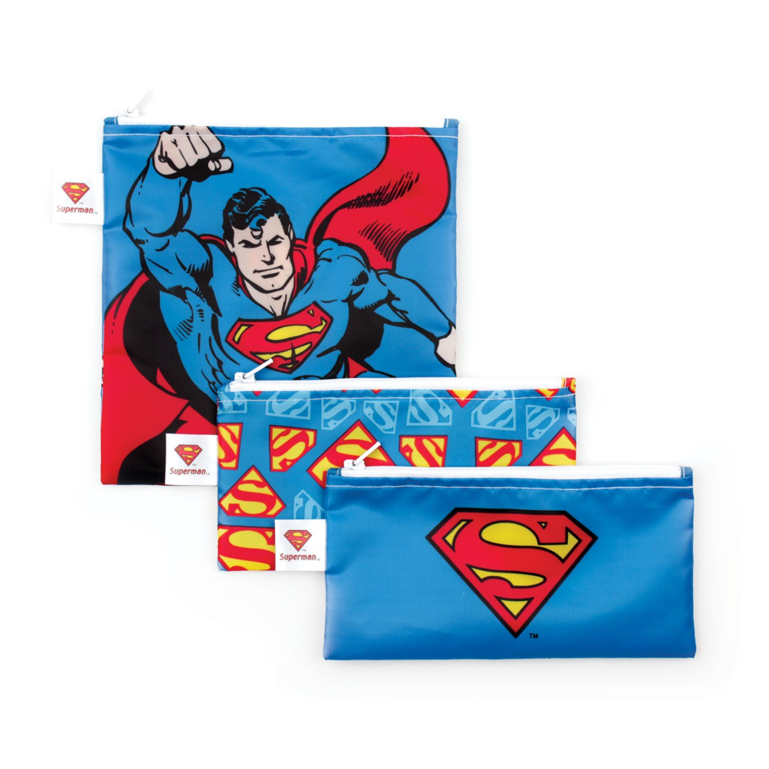 Bumkins DC Comics Snack Bags-3 Pack, Wonder Woman SB3-WBWW1