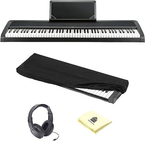 Korg b1bk 88-Key Piano Digital con mejorado sistema de ...