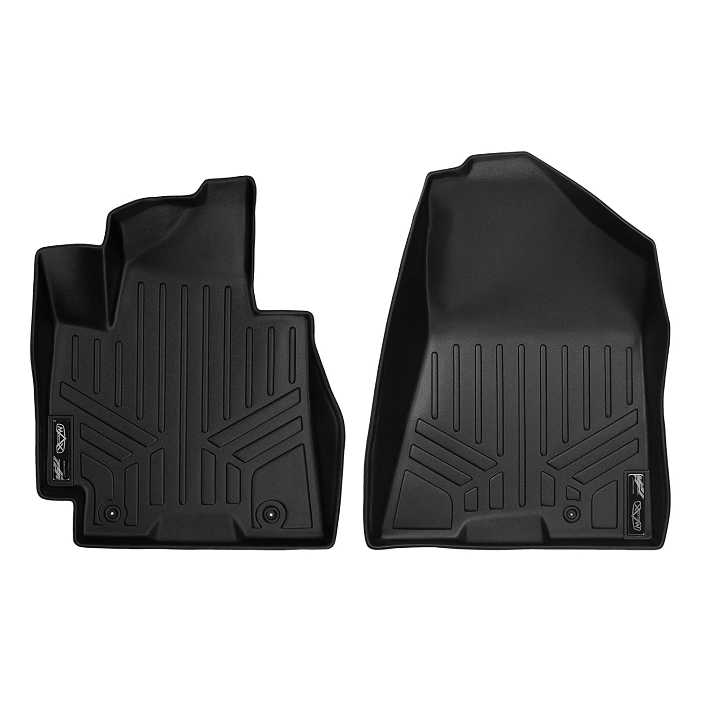 SMARTLINER Custom Fit Floor Mats 1st Row Liner Set Black for 2016-2018 Hyundai Tucson