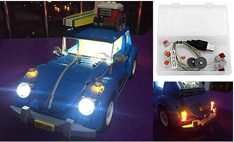 Kit di illuminazione a led per il modello lego 10252 vw beetle anche