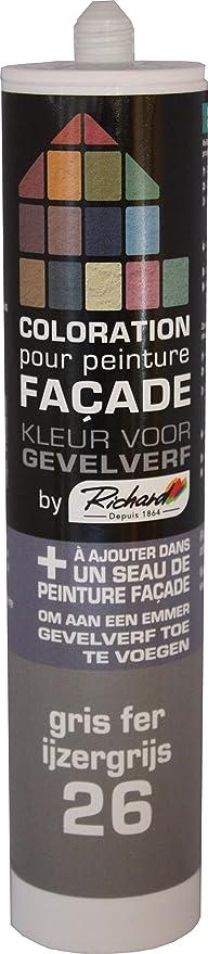 Gentil Colorant GRIS FER 26 Pour Peinture Façade Acrylique By Richard. 300ml