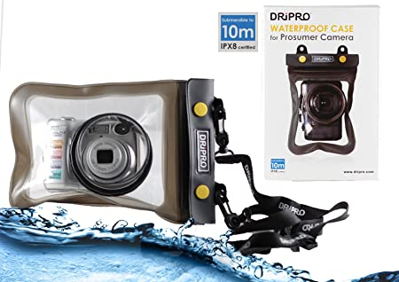 Navitech Waterproof Underwater Housing Camera Dry Bag Case Compatible with The FUJIFILM X-Pro2 Camera