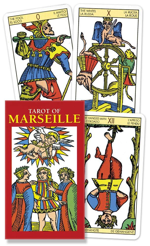 Tarot of Marseille Mini (English and Spanish Edition): Lo Scarabeo:  9780738710266: Amazon.com: Books