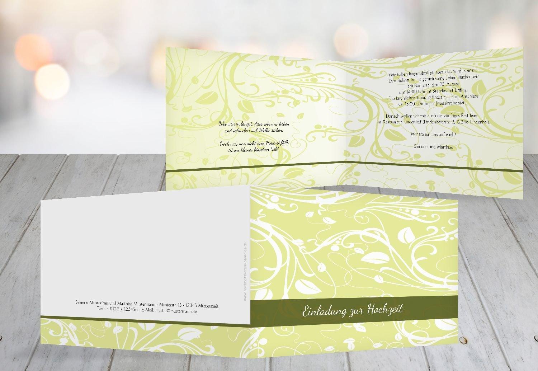 Kartenparadies Hochzeitskarte Hochzeit Einladung Einladung Einladung Blättertraum 2, hochwertige Einladung zur Heirat inklusive Umschläge   10 Karten - (Format  148x105 mm) Farbe  Schwarz B01MZBZVUR   Berühmter Laden    Mangelware    Deutschland München  b3c9de