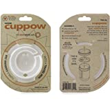 Original Cuppow Wide with Straw-Tek - Drinking Lid for Wide Mouth Canning Jar!