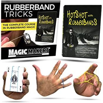 Amazon Com Magic Makers Become Hot Shot With Rubber Band