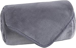 LITHER Fleece Blanket Throw Size Grey Super Soft Lightweight… Sweepstakes