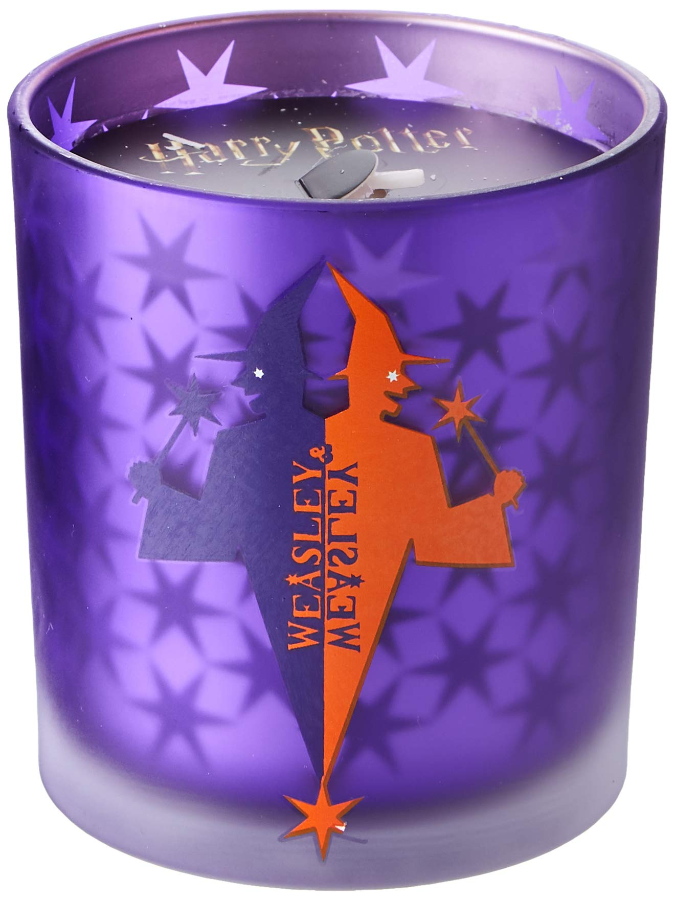 Harry Potter: Weasleys Wizard Wheezes Glass Candle ...