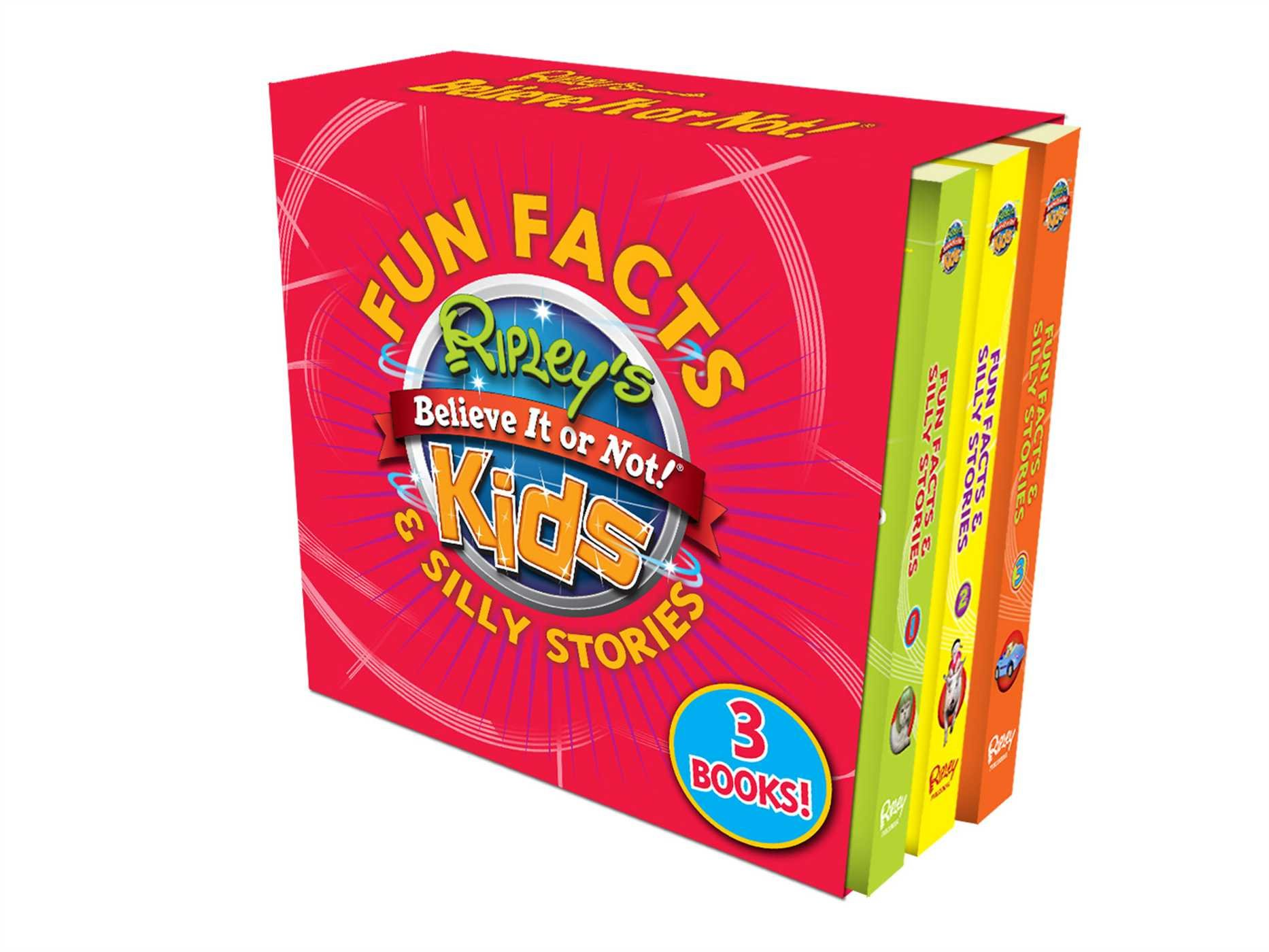 Ripley's Fun Facts & Silly Stories BOXED SET 3 BOOKS: Contains 3 books pdf epub