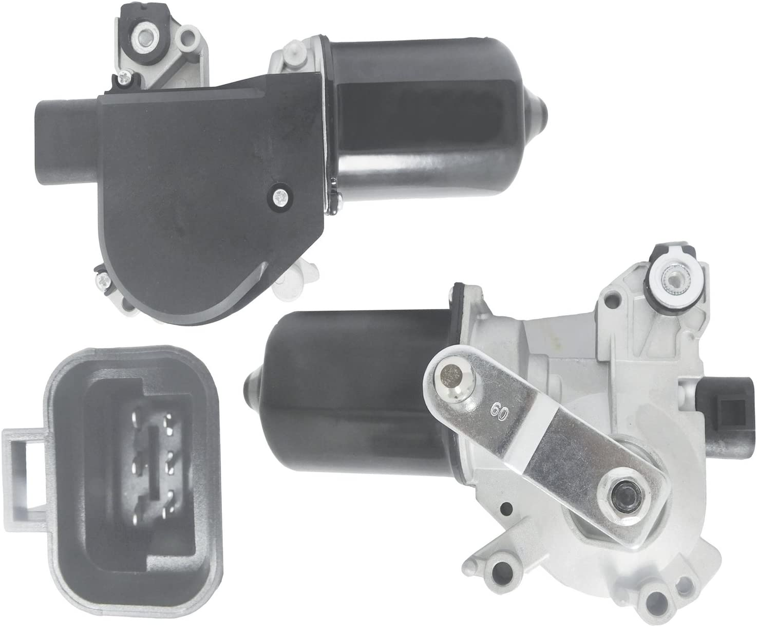 New Front Wiper Motor W//Pulseboard Module For 2003 Chevy Suburban Replaces GM 88958144 Avalanche 1500 2500 /& Tahoe
