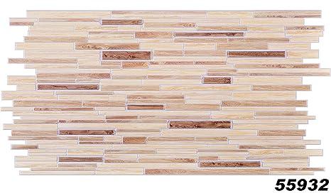 1 Platte Dekor Paneele Holzoptik Wand Pvc Stabil 95