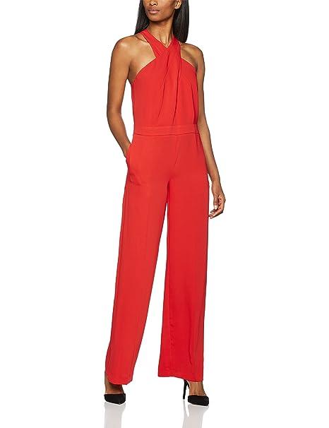 Trucco Monase, Vestido de Noce para Mujer, (Rojo Medio), 44