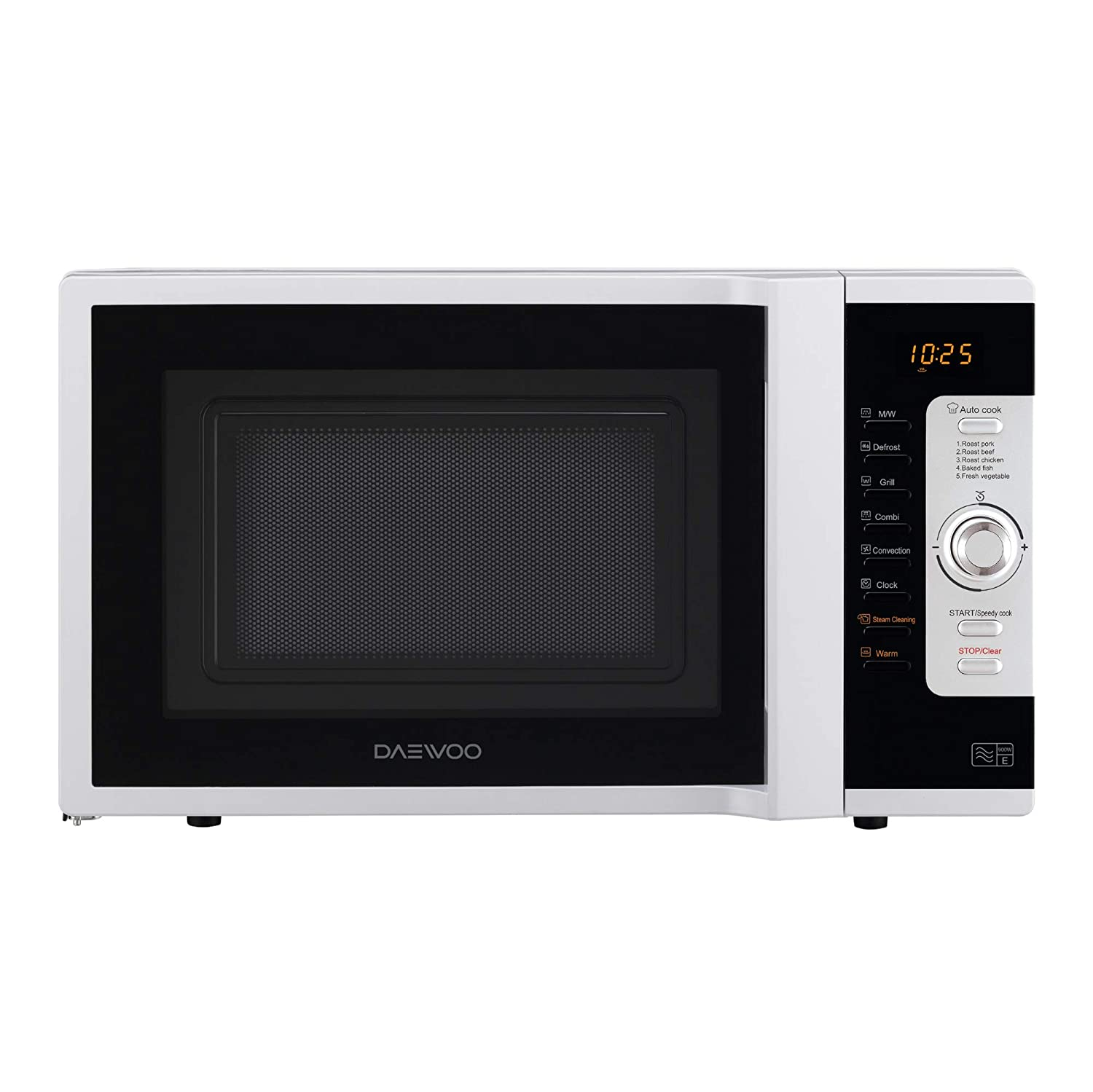 Daewoo KOC9C0TR Combination Microwave Oven, 900 W, 28 Litres, White