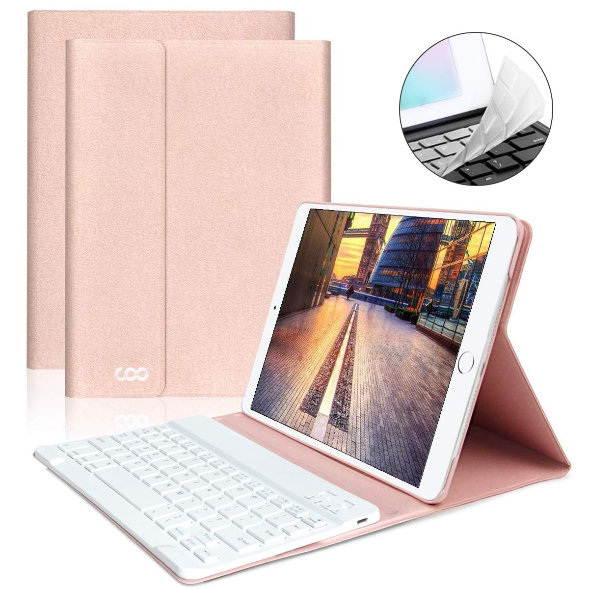 Funda con teclado iPad 2018/2017 / iPad Air 2/Air 1 9.7