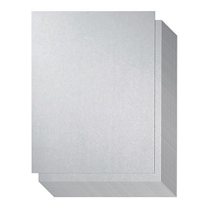96 unidades - papel brillante, papel metálico plateado ...