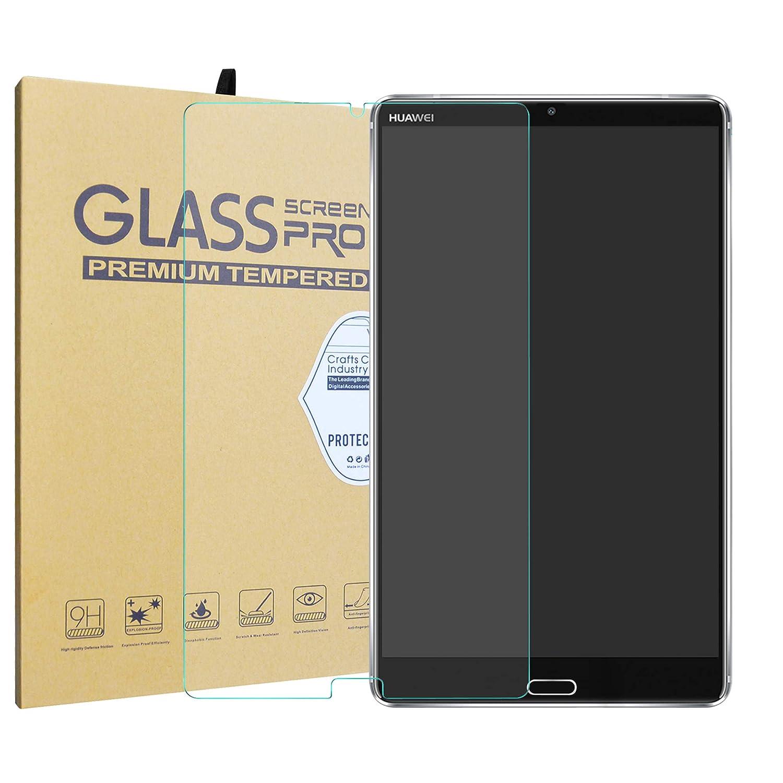 Domxteck Paquete de 2 en 1 Funda Protectora de Silicona TPU Transparente + Protector de Pantalla 9H para Huawei MediaPad M5 10.8