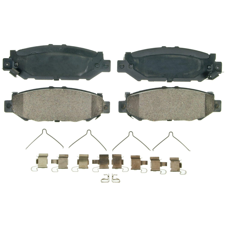 Wagner QuickStop ZD572 Ceramic Disc Pad Set Rear Wagner Brake