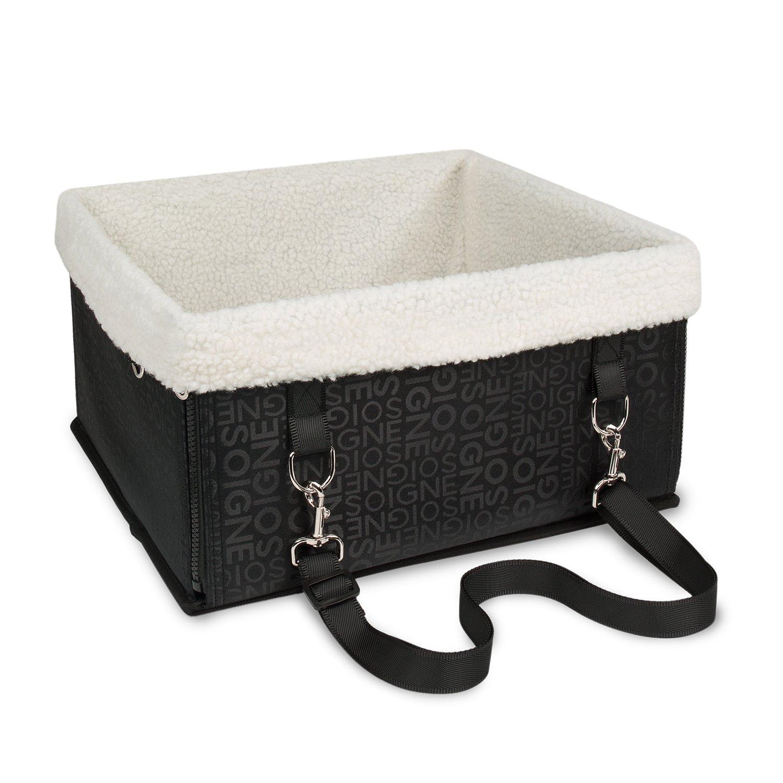 BIGWING Style Haustier Hunde Katze Auto Erhöhung Sitz Tasche Träger Tragetasche Stofftasche Reise-Bett Luxusausblick Hundehochsitz Autositz Träger