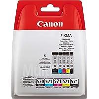 Canon - 0372C004 - Cartouches d'Encre d'Origine - Noir/Cyan/Magenta/Jaune