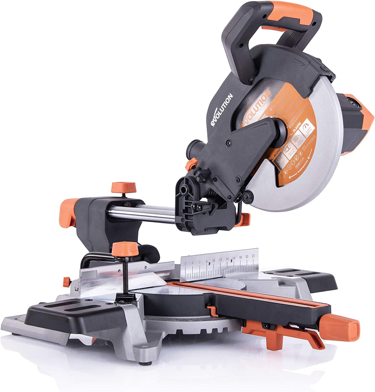 Evolution R255SMSL Compound Sliding Miter Saw