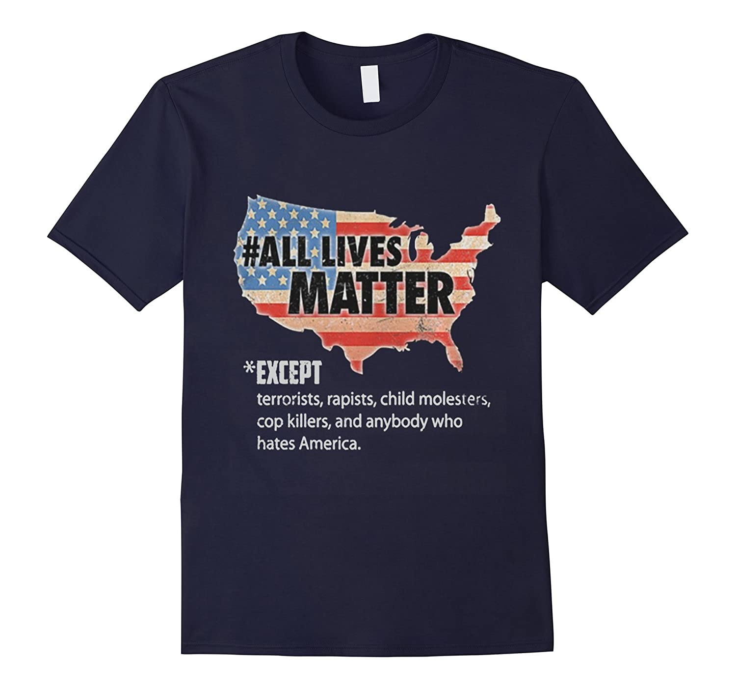All Lives Matter America T-shirt-Vaci