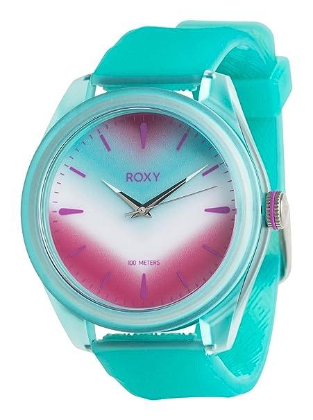 6423b684e528 Roxy - Reloj Analógico - Mujer - ONE SIZE - Azul  Roxy  Amazon.es  Ropa y  accesorios