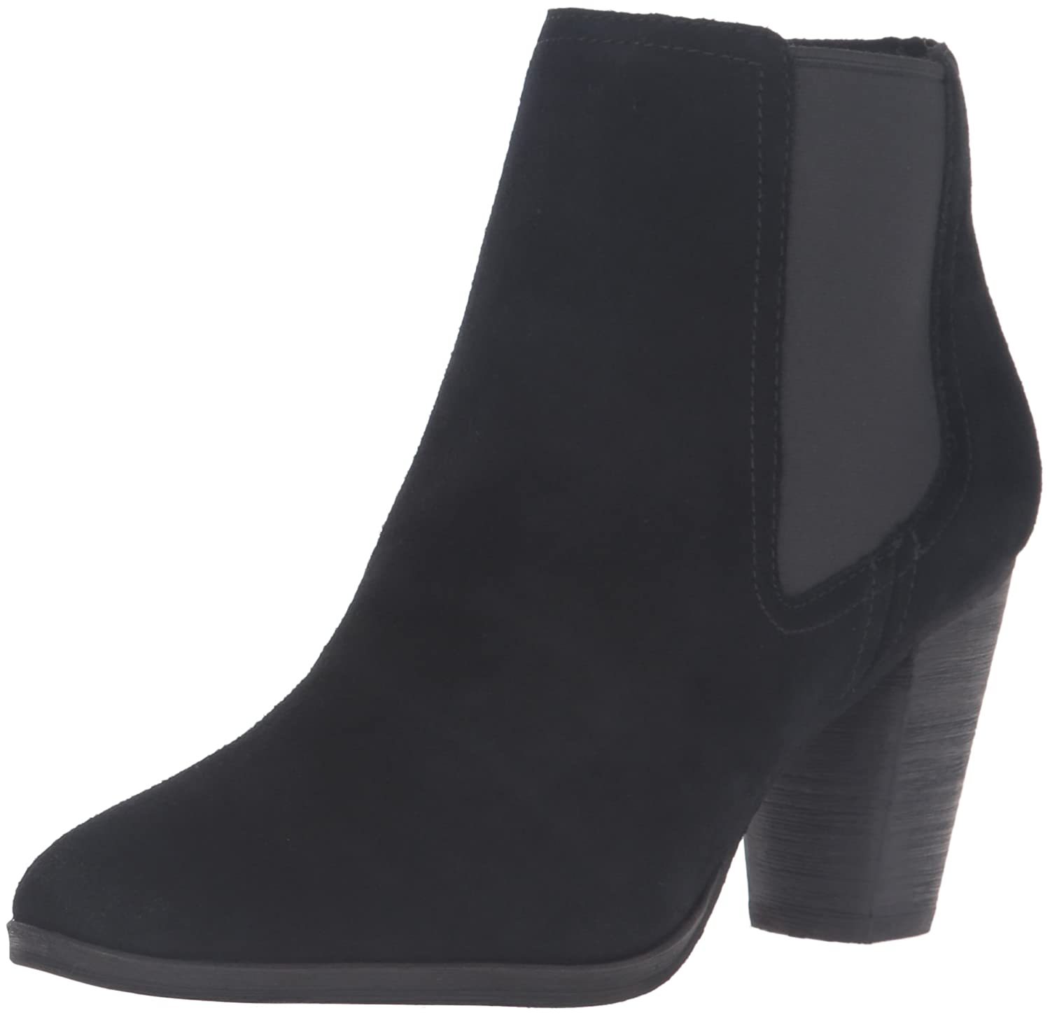 Cole Haan Women's Hayes Gore Ankle Bootie B01FX58SAU 7.5 B(M) US|Black Suede