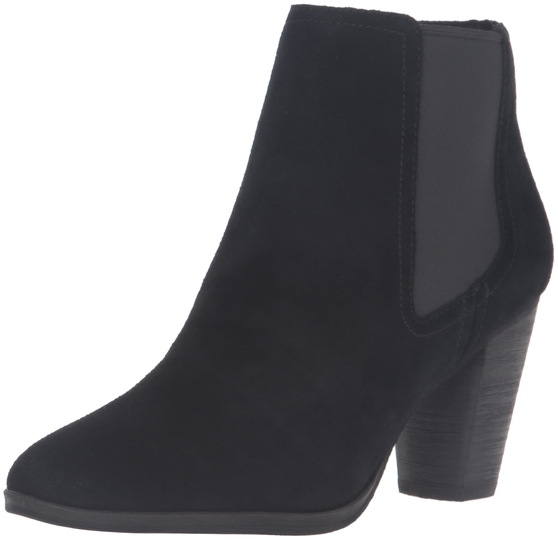 Cole Haan Women's Hayes Gore Ankle Bootie, Black Suede, 10.5 B US