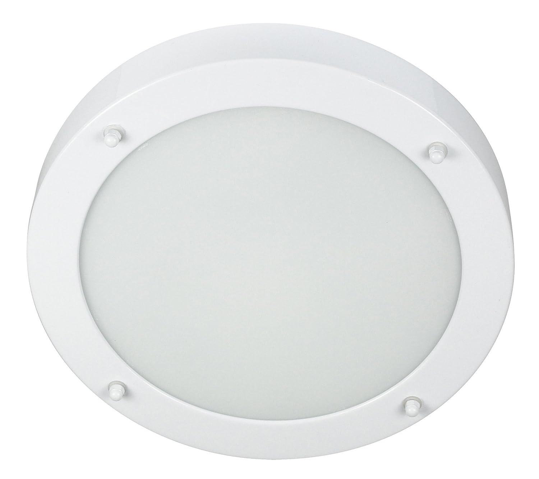Smartwares 3000.044 Verona Bathroom Light – Metal – Glass
