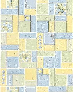 hochqualitative design struktur tapete edem versailles 165 24 fliesen muster vinyltapete relief tapete kche - Fliesen Tapete Kuche