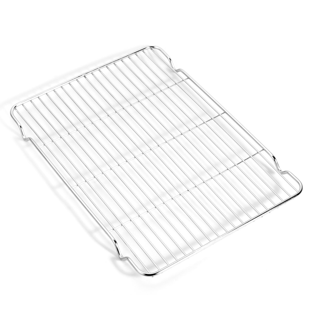 Baking sheets and Rack Set, Zacfton Cookie pan with Nonstick Cooling Rack & Cookie sheets Rectangle Size 12 x 10 x 1 inch,Stainless Steel & Non Toxic & Healthy,Superior Mirror Finish & Easy Clean by Zacfton (Image #5)