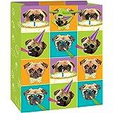 Pug Puppy Birthday Gift Bag