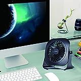 Desk Personal Fan USB Table Portable Fan