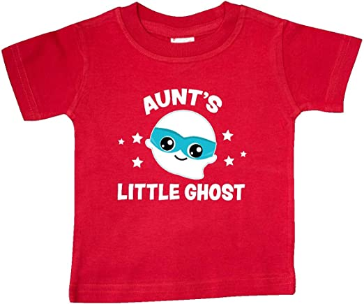 inktastic Cute Aunts Little Ghost with Stars Toddler T-Shirt