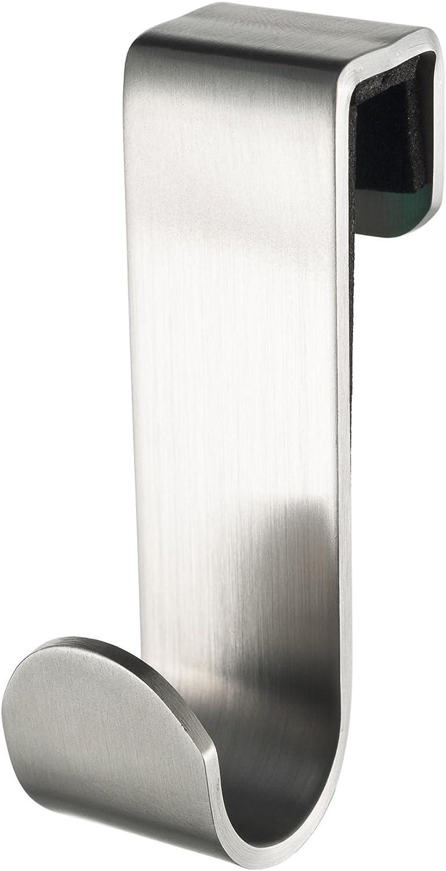 Haceka Selection Chrome Gancho Corto, Acero Inoxidable, Gris, 2.6x4.68x8.32 cm
