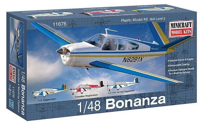 Minicraft Bonanza Airplane Model Kit (1/48 Scale)