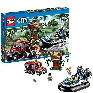 Amazon.com: Lego City : Hovercraft Arrest # 60071-1: Toys & Games