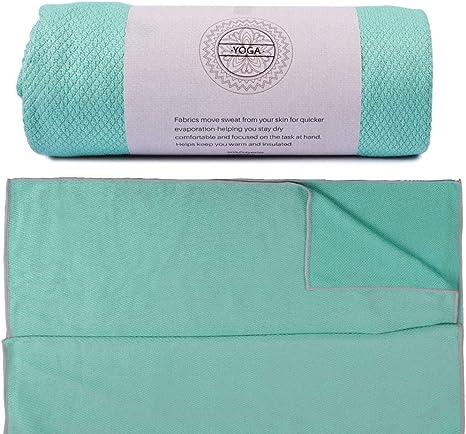 Non-Slip Yoga Mat Eco-Friendly Print FitnessTowel Absorption Sweat Blanket