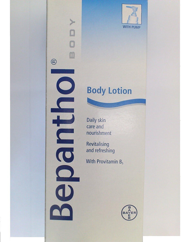 Loción corporal Bepanthol de 400 ml para quemaduras y tatuajes ...