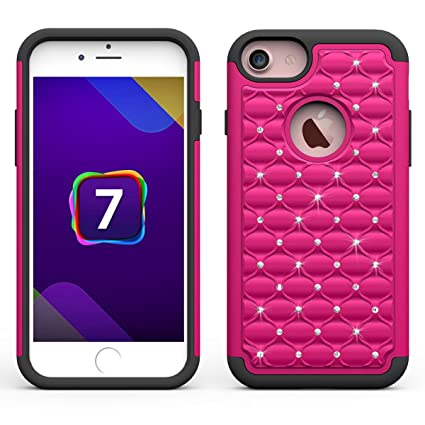 Amazon.com: teléfono celular Funda para iPhone 7 A prueba de ...