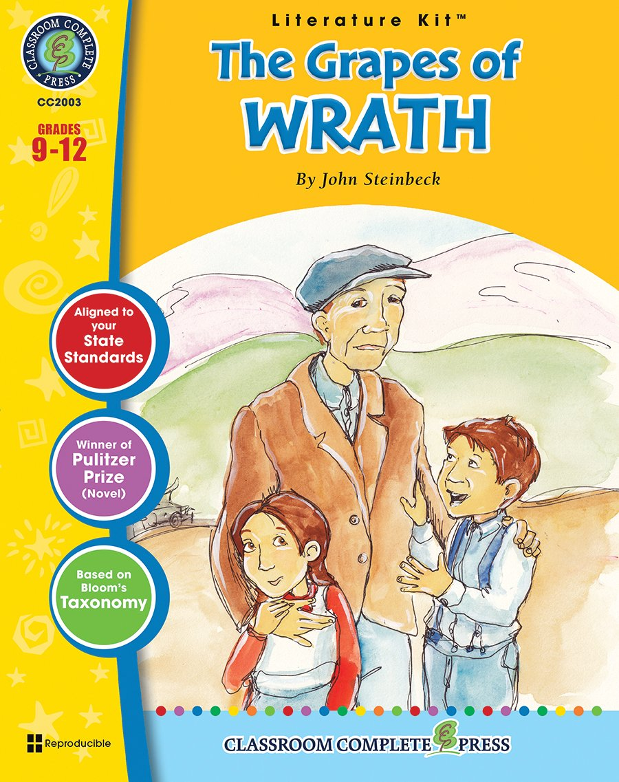 The Grapes of Wrath - Novel Study Guide Gr. 9-12 - Classroom Complete Press ebook