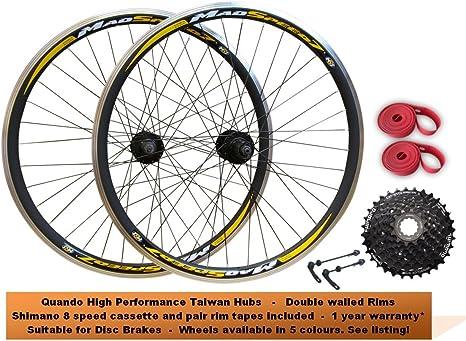 700 C Hybrid 29er MTB bicicleta de ciclocross montaña borde disco freno Juego de ruedas delanteras