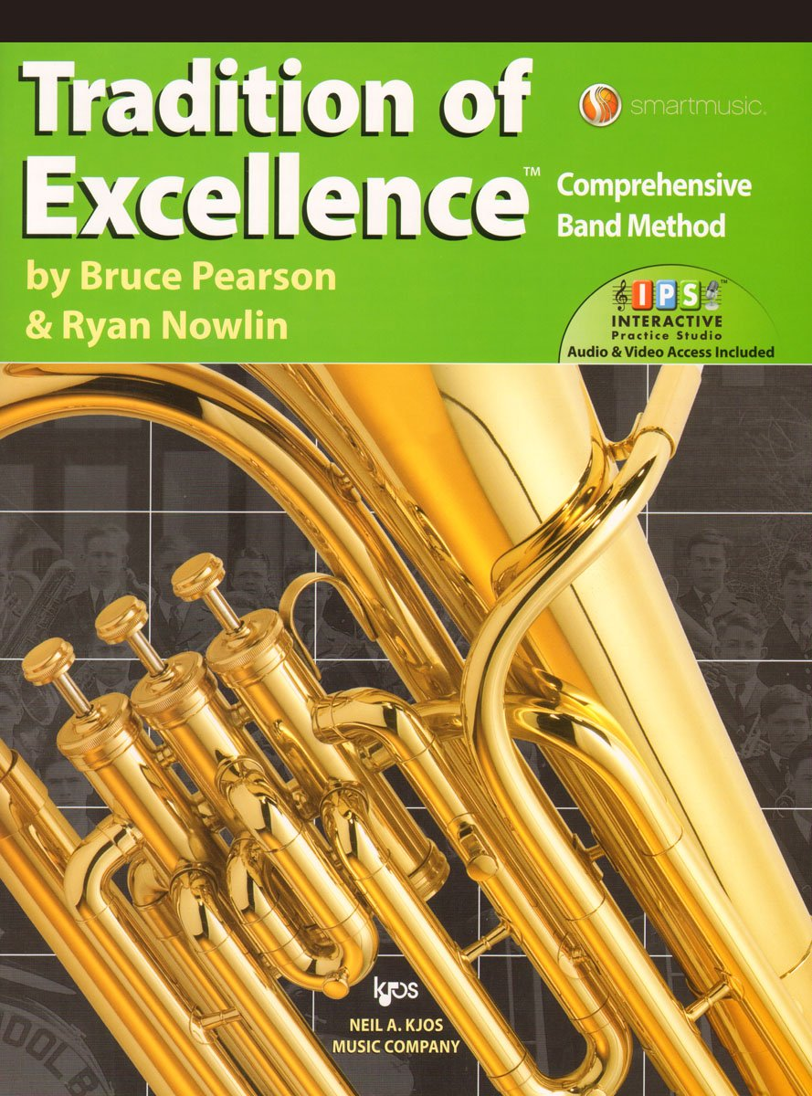 W63TC - Tradition of Excellence Book 3 - Baritone/Euphonium T.C. ebook