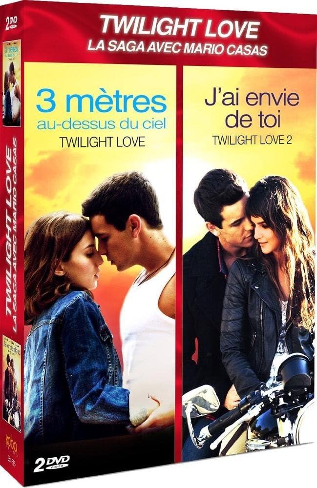 Coffret 2 Comedies Romantiques 3 Metres Au Dessus Du Ciel Twilight Love J Ai Envie De Toi Twilight Love 2 Amazon Co Uk Dvd Blu Ray