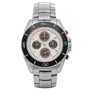 527679a2b7d9 [マイケルコース] 腕時計 レディース MICHAEL KORS MK8476 シルバー ブラック シルバー [並行輸入品