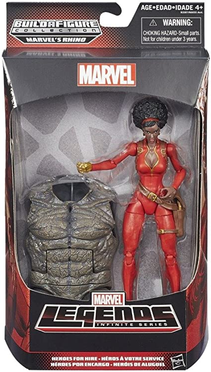 Marvel Legends Infinite 6 Inch Action Figure Spider-Man Wave 4 - Misty Knight by Hasbro
