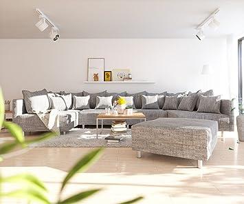 Sofa Clovis Erweiterbares Modulsofa Eckcouch Wohnlandschaft Sofa Xl