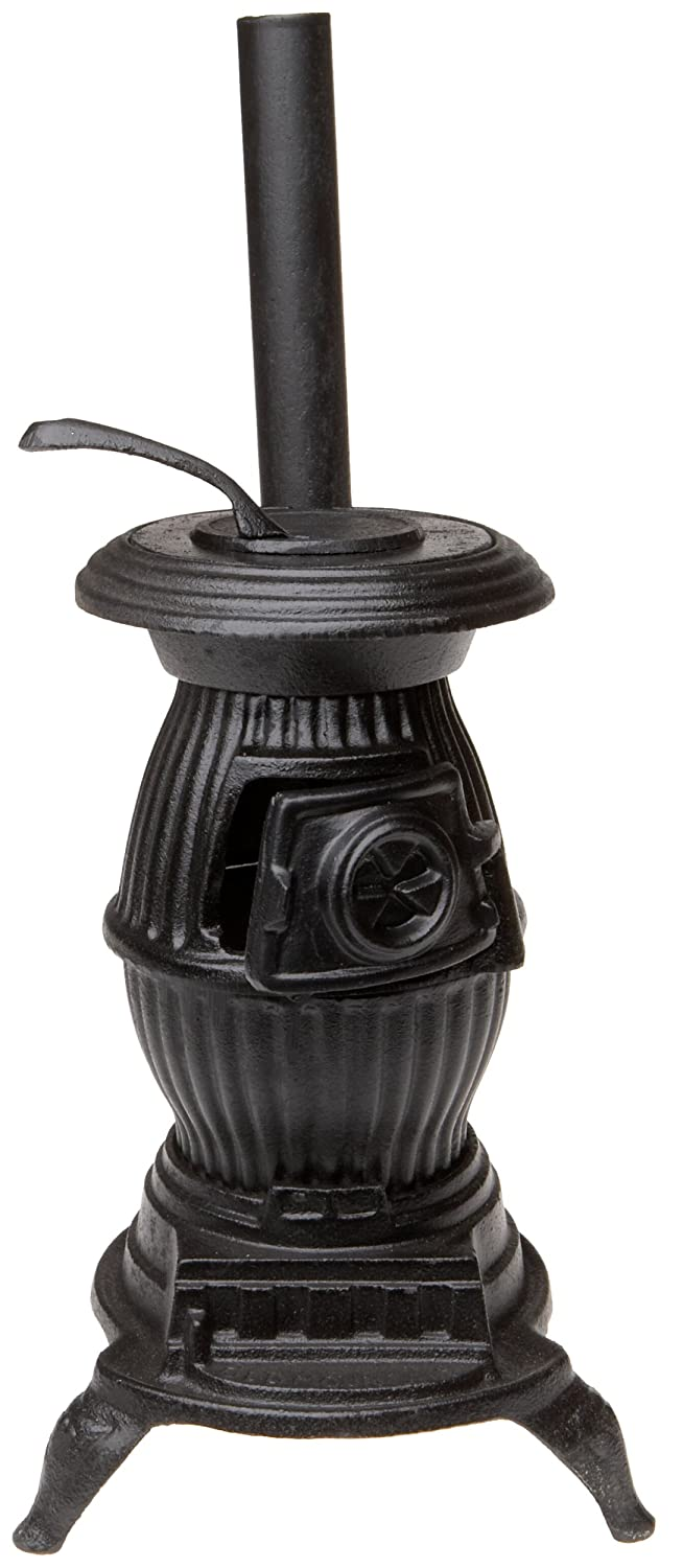 Amazon.com: Old Mountain 10141 Black Mini Pot Belly Stove Set ...